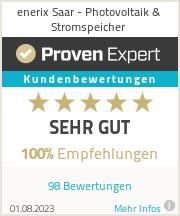 Erfahrungen & Bewertungen zu enerix Saar - Photovoltaik & Stromspeicher