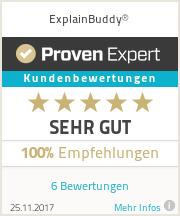 Erfahrungen & Bewertungen zu ExplainBuddy®