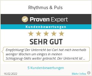 Erfahrungen & Bewertungen zu Rhythmus & Puls