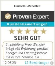 Erfahrungen & Bewertungen zu Pamela Wendler