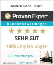 Erfahrungen & Bewertungen zu Andrea Maria Bokler