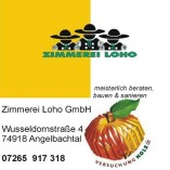 Zimmerei Loho GmbH logo