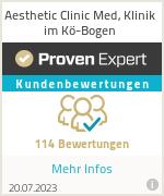 Erfahrungen & Bewertungen zu Aesthetic Clinic Med, Klinik im Kö-Bogen