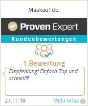 Erfahrungen & Bewertungen zu Maskauf.de