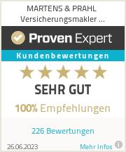 Erfahrungen & Bewertungen zu Martens & Prahl Versicherungsmakler Spaichingen GmbH
