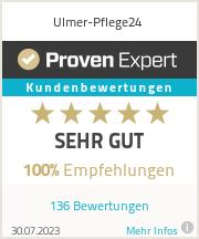 Erfahrungen & Bewertungen zu Ulmer-Pflege24