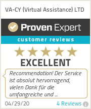 Ratings & reviews for VA-CY (Virtual Assistance) LTD