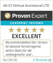 Ratings & reviews for VA-CY (Virtual Assistance) LTD