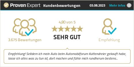 Erfahrungen & Bewertungen zu Automobilforum Kuttendreier GmbH anzeigen