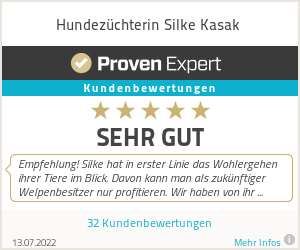Erfahrungen & Bewertungen zu Hundezüchterin Silke Kasak
