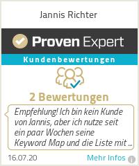 Erfahrungen & Bewertungen zu Jannis Richter
