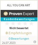 Erfahrungen & Bewertungen zu ALL YOU CAN ART