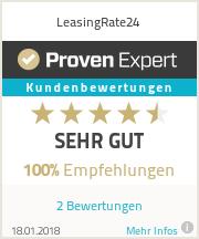Erfahrungen & Bewertungen zu LeasingRate24
