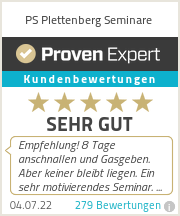 Erfahrungen & Bewertungen zu PS Plettenberg Seminare