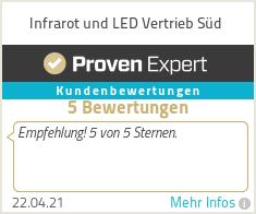 Erfahrungen & Bewertungen zu Infrarot und LED Vertrieb Süd