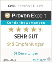 Erfahrungen & Bewertungen zu Gebäudetechnik Ullrich