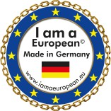 I am a european logo