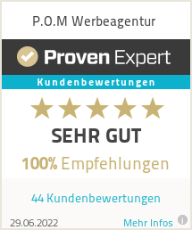 Erfahrungen & Bewertungen zu P.O.M Werbeagentur