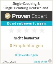 Erfahrungen & Bewertungen zu Single-Coaching & Single-Beratung Deutschland