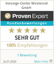Erfahrungen & Bewertungen zu Vorsorge-Center Wüstenrot GmbH