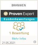Erfahrungen & Bewertungen zu BRANWEN