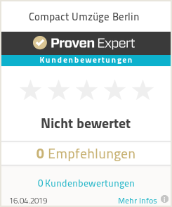Erfahrungen & Bewertungen zu Compact Umzüge Berlin