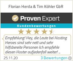 Erfahrungen & Bewertungen zu Florian Herda & Tim Köhler GbR