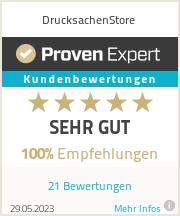 Erfahrungen & Bewertungen zu DrucksachenStore