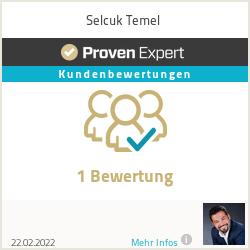 Erfahrungen & Bewertungen zu Selcuk Temel