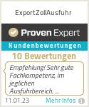 Erfahrungen & Bewertungen zu ExportZollAusfuhr