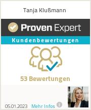 Erfahrungen & Bewertungen zu Tanja Klußmann