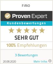 Erfahrungen & Bewertungen zu FiRiO