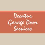 Decatur Garage Door Services