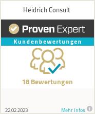 Erfahrungen & Bewertungen zu Heidrich Consult