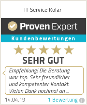 Erfahrungen & Bewertungen zu IT Service Kolar