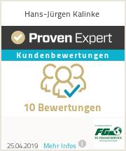 Erfahrungen & Bewertungen zu Hans-Jürgen Kalinke