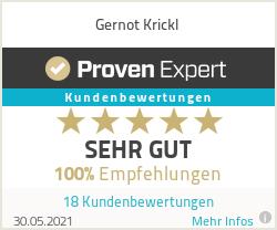 Erfahrungen & Bewertungen zu Gernot Krickl