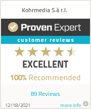 Ratings & reviews for Kohrmedia S.à r.l.