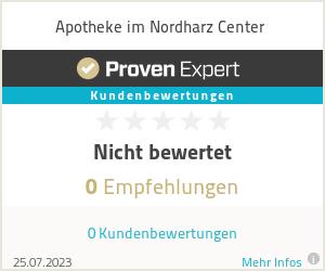 Erfahrungen & Bewertungen zu Apotheke im Nordharz Center