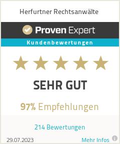 Erfahrungen & Bewertungen zu Herfurtner Rechtsanwälte