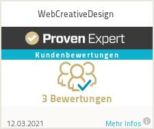 Erfahrungen & Bewertungen zu WebCreativeDesign