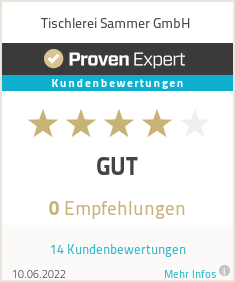 Erfahrungen & Bewertungen zu Sammer GmbH Innenarchitektur