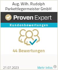 Erfahrungen & Bewertungen zu Aug. Wilh. Rudolph Parkettlegermeister GmbH