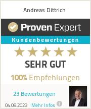 Erfahrungen & Bewertungen zu Andreas Dittrich