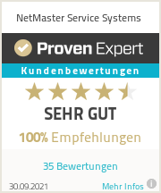 Erfahrungen & Bewertungen zu NetMaster Service Systems