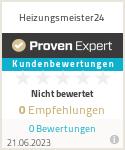 Erfahrungen & Bewertungen zu Heizungsmeister24