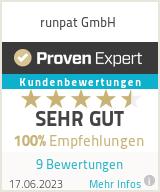 Erfahrungen & Bewertungen zu runpat GmbH