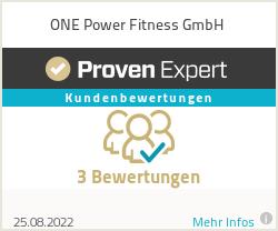 Erfahrungen & Bewertungen zu ONE Power Fitness GmbH