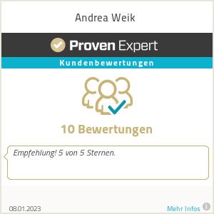 Erfahrungen & Bewertungen zu Andrea Weik