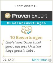 Erfahrungen & Bewertungen zu Team Andro IT